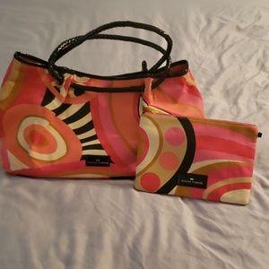 Elaine Turner Bags - Vintage Elaine Turner Multicolor Canvas Tote